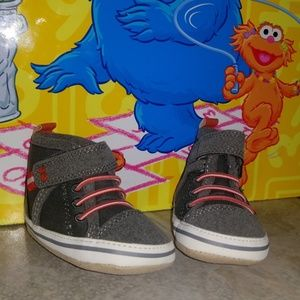 Soft Sole Baby Sneakers 0-6M